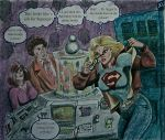 DOCTOR WHO AND SUPERGIRL 1015 by MajorO