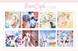 Flower Girls | IconPack by HowlHeaven