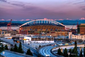 Centurylink Field Seattle by UrbanRural-Photo