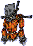 Drawlloween 2014, day 16- Scarecrow by darksilvania