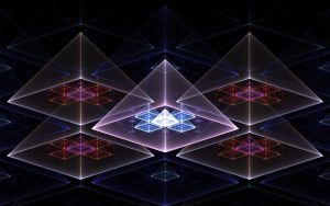 fractal pyramid 2 by fengda2870