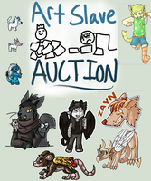 Art Slave Auction! (Ended!) by Pepper-Head
