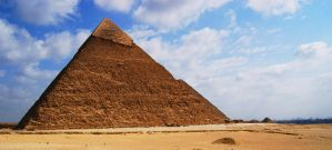 The Pyramid of Khafre by memoangel33