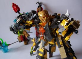Steelax Master of Weapons (my Self-MOC) 11 by SteelJack7707