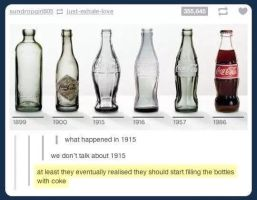 Coke Bottles by TheFunnyAmerican
