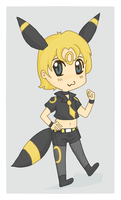 Umbreon Boy Commish by michielynn