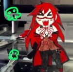 Grell Paper Child by blue-ember333