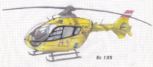 Eurocopter ec-135 T2i by NicoW92