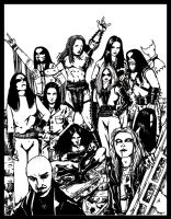 The kings of blackmetal by Destinyfall