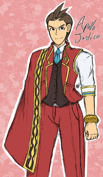 Apollo Justice [POST-SoJ] Fanart by KthTheArtist
