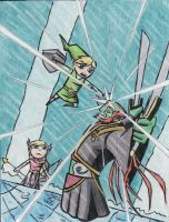 Wind Waker - final battle by Twinkie5000