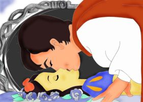 Snow White and Prince Charming by atomicseasoning