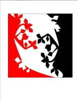 Red and Black Negative Space by soccercat4685