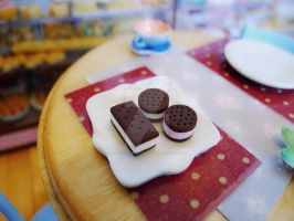 Ice cream sandwiches 1/6th scale by LittlestSweetShop