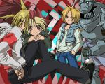 +YGO and FMA+ Twisted room by whitedragoons
