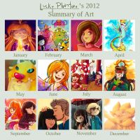 2012 Art Summary by Lucky-phantom