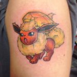 Flareon with a Fire Stone by techn0vert
