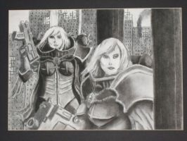 Sisters of Battle by MaltheusTheSkourge