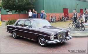 1968 Mercedes-Benz 280 by compaan-art