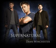 Supernatural Wallpaper - Dean by Vampiric-Time-Lord
