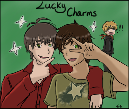 APH - Lucky Charms! by Vamprincess-Noa
