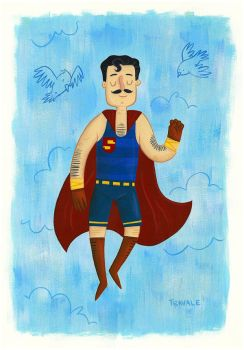 Superman of style by TRAVALE