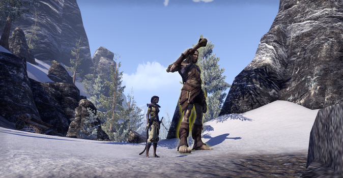 Adventures in Tamriel: Another friend. by Night-Of-Wind