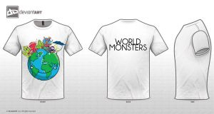 World Monsters by BahaeThugStyle