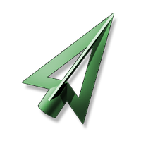Green Arrow Icon by JeremyMallin