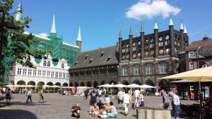 Townhall of Luebeck by Arminius1871