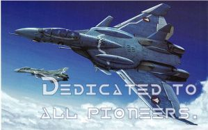 Dedicated to all Pioneers by fokkerfanjet
