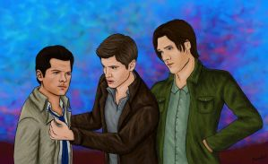 Supernatural Trio by MellodyDoll