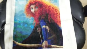 Merida of Brave  -  Cross Stitch by lailarshid