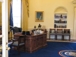 Free Oval Office Stock 4 by tursiart