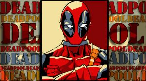 Deadpool Pop Art Wallpaper 4 by iamherecozidraw