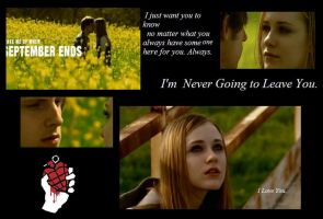 I'm Never Going To Leave You by GreenDayGirl18
