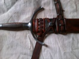 scabbard by BrianBrownArmoury