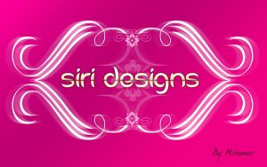 Siri Designs Wallpaper by mskumar