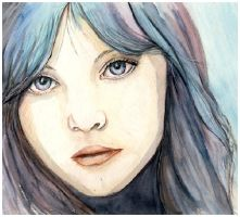 In Her Eyes - Portrait by the-romanticide