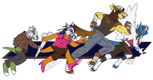 [Commish] Running Of The Misfits by kompy