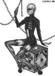 Pinhead pin-up by CyberII