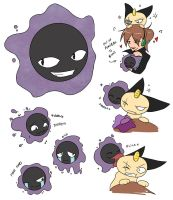 Puck - Gastly Ref by Cold-Creature