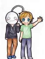 Cry and pewdie~ by sevenstardust