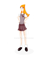 Candace (student) by artistYah