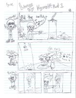Living By Myself Pg.1 by uhnevermind