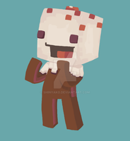 Cake minecraft skin by Shinyako