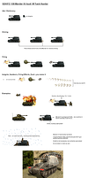 Sprite Sheet - WWII German Marder III Tank Hunter by Kenisi