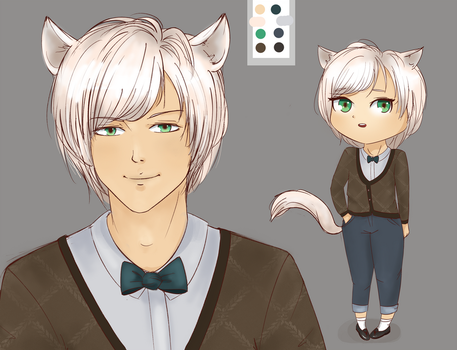 wolfboy kemonomimi [Point AUCTION] CLOSED. by nucchiin