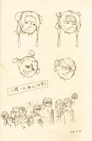 Yao in Different Hairstyles by MX6669