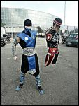 Leon Chiro as Sub-Zero from Roma Comics 2012 by LeonChiroCosplayArt